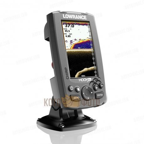 Эхолот Lowrance Hook-4x Mid/High (83/200)