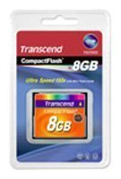 CompactFlash Card 8GB 133X Transcend