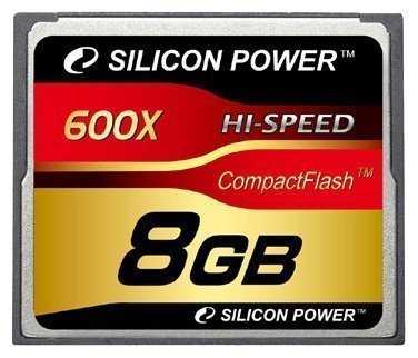 CompactFlash Card 8GB 600X Silicon Power