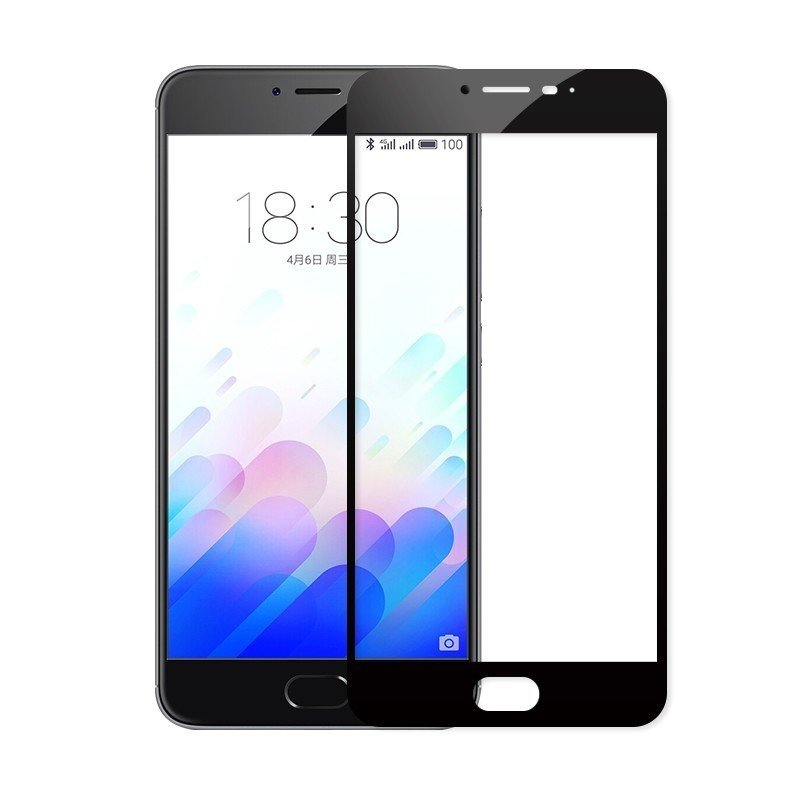 Защитное стекло CaseGuru для Meizu U10 Full Screen Black 0,33мм top quality lcd display digitizer touch screen assembly for meizu u10 phone with frame free shipping with tools as gift