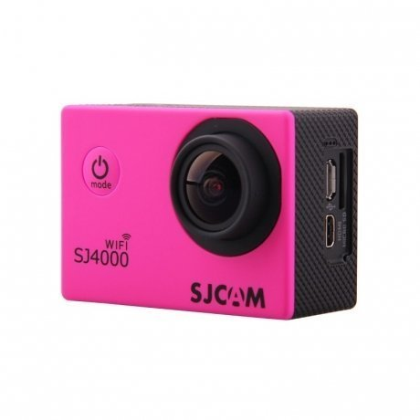Экшн-камера SJCAM SJ4000 Wi-Fi Pink экшн камера sjcam sj4000 wi fi red