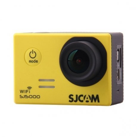 Фотография товара экшн-камера SJCAM SJ5000 WiFi Yellow (113908)