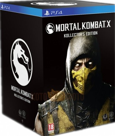 ���� Mortal Kombat X. Kollectors Edition [PS4, ������� ��������]