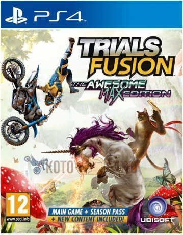 ���� Trials Fusion: The Awesome. Max Edition [PS4, ������� ������]