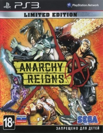 Игра Anarchy Reigns. Limited Edition [PS3, русская документация]