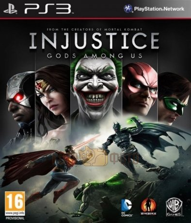 Игра Injustice: Gods Among Us [Playstation 3, русские субтитры]