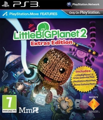 Игра LittleBigPlanet 2 Расширенное издание (с поддержкой PS Move) [Playstation 3, русская версия]