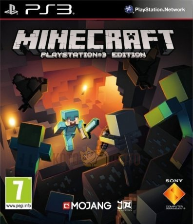Игра Minecraft. Playstation 3 Edition [PS3, русская версия]
