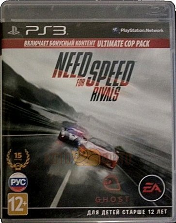 Игра Need for Speed Rivals (Essentials) [PS3, русская версия]
