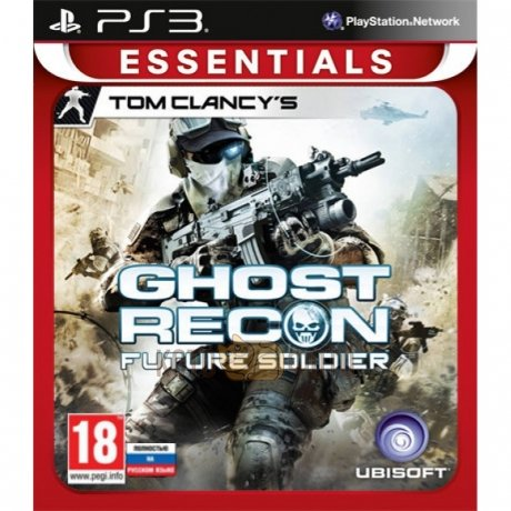 Игра Tom Clancys Ghost Recon: Future Soldier (Essentials) [PS3, русская версия]