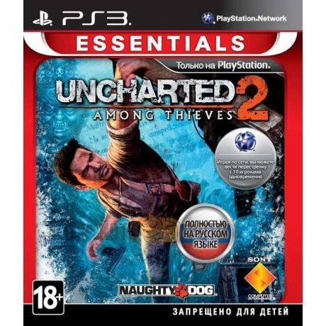 Игра Uncharted 2: Among Thieves (Essentials) [PS3, русская версия]