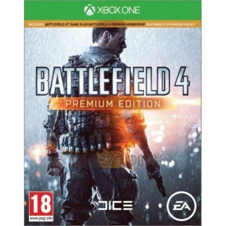 Игра Battlefield 4. Premium Edition [Xbox One, русская версия]