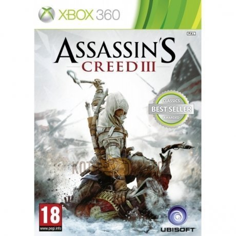Игра Assassins Creed 3 (Classics) [Xbox 360, русская версия]