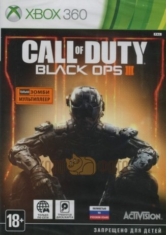 Игра Call of Duty: Black Ops III [Xbox 360, русская версия]