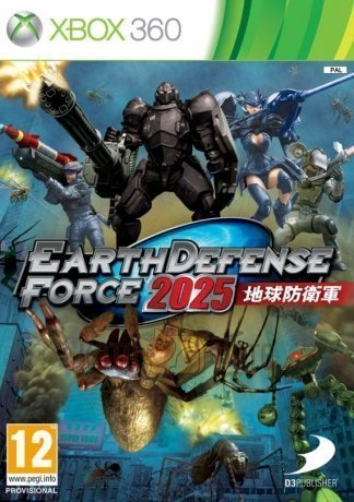 ���� Earth Defense Force 2025 [Xbox 360, ���������� ������]