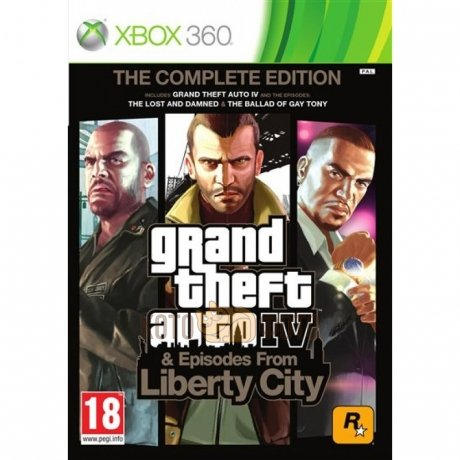 Игра Grand Theft Auto Episodes from Liberty City (Classics) [Xbox 360, русские субтитры]
