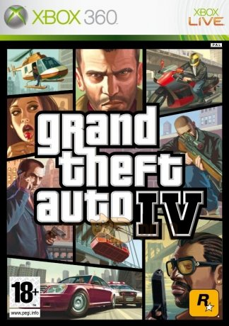 Игра Grand Theft Auto IV (Classics) [Xbox 360, русская документация]