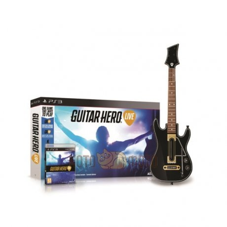 Игра Guitar Hero Live Bundle .Гитара + игра. (Playstation 3)