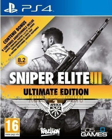 Игра  Sniper Elite 3 Ultimate Edition (Playstation 4)