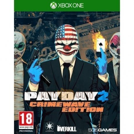 Игра Payday 2 Crimewave Edition (Xbox One)