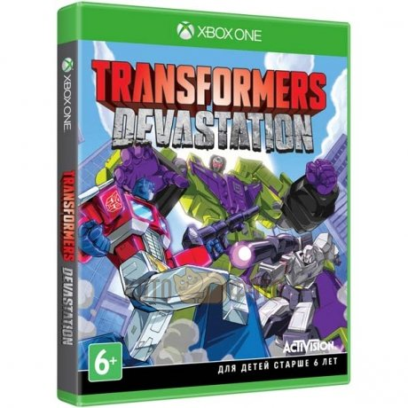 Игра Transformers: Devastation. (Xbox One)