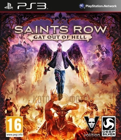 Игра Saints Row Gat Out Of Hell (PS3)