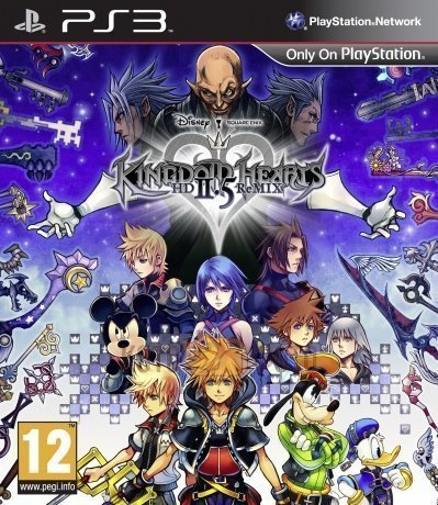 Игра Kingdom Hearts HD 2.5 ReMIX Standard (PS3)