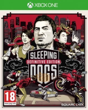 Игра Sleeping Dogs Definitive Edition (Xbox One)