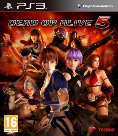 Игра Dead or Alive 5 (Playstation 3)