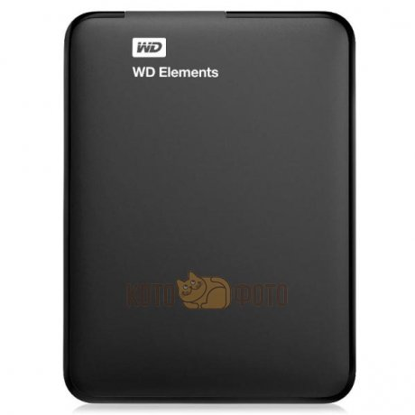 Жесткий диск WD Original USB 3.0 1Tb WDBUZG0010BBK-EESN Elements 2.5 черный