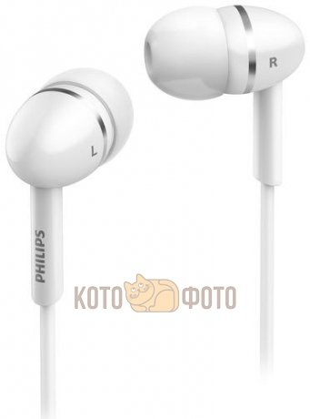 Наушники Philips SHE1450 White philips she3515wt white наушники