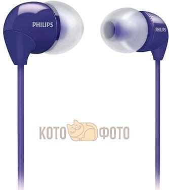 Наушники Philips SHE3590 Purple наушники philips she3590 синий