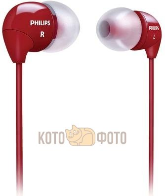 Наушники Philips SHE3590 Red наушники philips she3590 синий