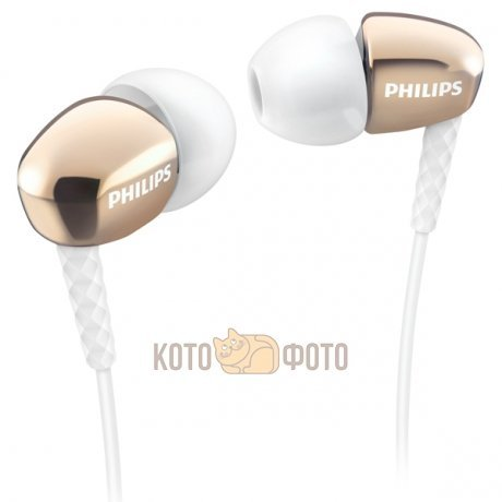 Наушники Philips SHE3900GD philips shs5200 наушники