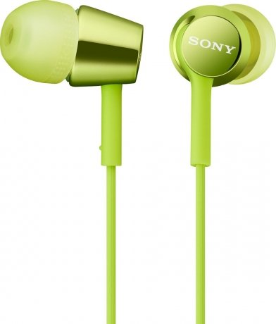 Наушники Sony MDR-EX150 Lime Green