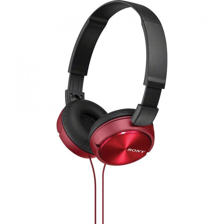 Наушники Sony MDR-ZX310/R Red наушники sony mdr zx310 blue