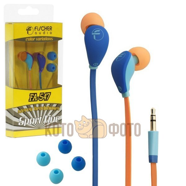 Наушники Fischer Audio FA-547 Blue-Blue цена