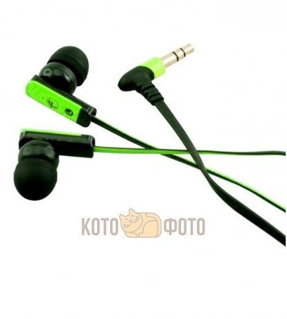 Наушники Fischer Audio FA-555 Green-Black