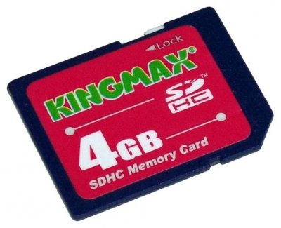 KINGMAX Kingmax SD 4GB High-Capacity (Class 6)