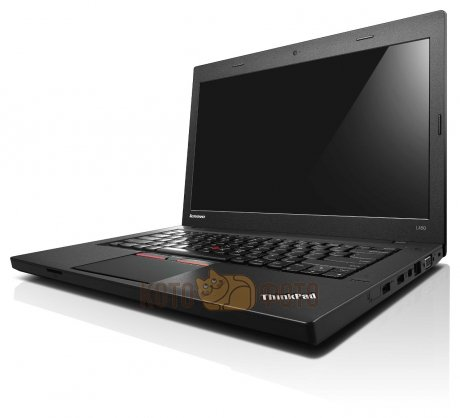 Ноутбук Lenovo ThinkPad L450 Core i5 5200U (4Gb/1Tb/SSD16Gb/Intel HD Graphics 5500/14), черный
