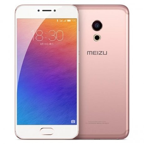Смартфон Meizu Pro 6 64Gb Rose Gold  смартфон meizu pro 6 64gb gold android 6 0 marshmallow mt6797t 2500mhz 5 2 1920x1080 4096mb 64gb 4g lte [m570h 64gb gold]