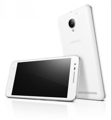 Смартфон Lenovo Vibe C2 (K10A40) 16Gb White сотовый телефон lenovo k10 vibe c2 power k10a40 16gb white