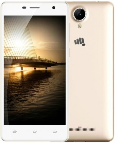 Смартфон Micromax Q351 Champagne White смартфон micromax bolt q379 yellow