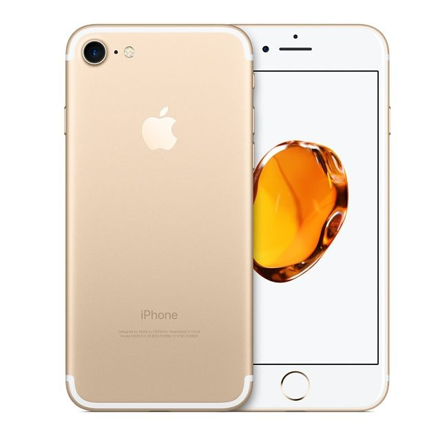 Смартфон Apple iPhone 7 32Gb Gold (MN902RU;A) смартфон