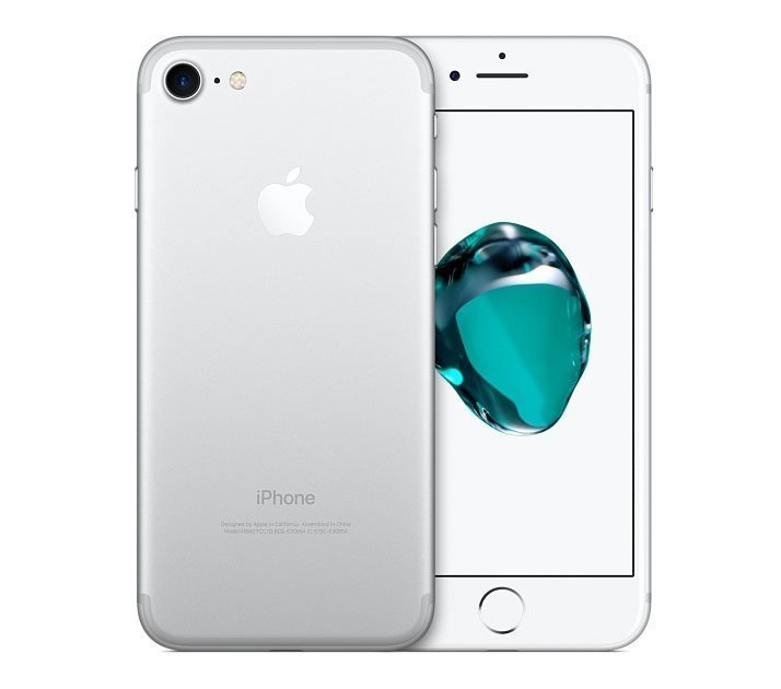 Смартфон Apple iPhone 7 128Gb Silver (MN932RU;A)