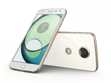 Смартфон Motorola Moto Z Play White Gold