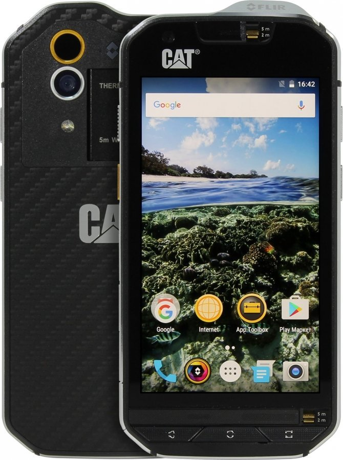 Смартфон Caterpillar  S60 Black Grey