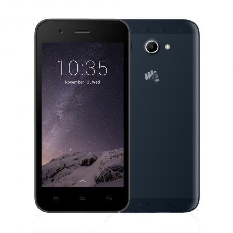 Смартфон Micromax Q346 Lite Blue смартфон micromax bolt q379 yellow