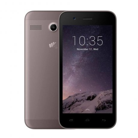 Смартфон Micromax Q346 Lite Coffee смартфон micromax q346 lite blue