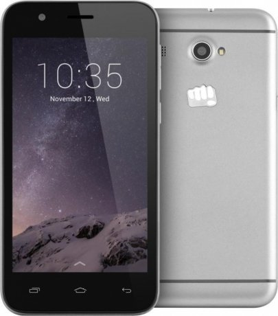 Смартфон Micromax Q346 Lite Grey смартфон micromax bolt q379 yellow